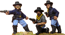 7th Cavalry w/ Pistols (foot)