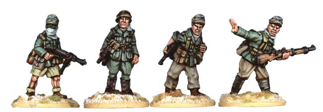 Deutsches Afrika Korps Officers - N.C.O.s