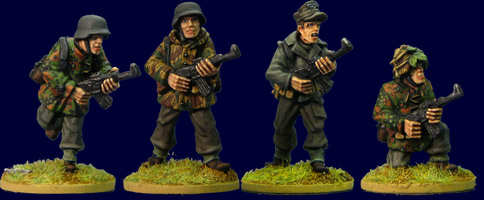 Late War German Infantry with MP44s