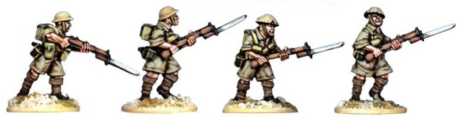 British 8th Army Riflemen I