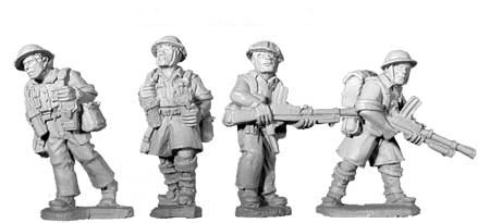 British 8th Army Bren Teams