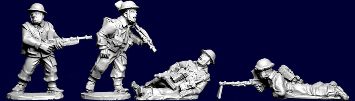 British and Commonwealth Infantry Bren Team's