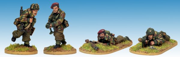 British Airborne Piat Team