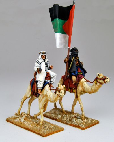 Camel Mounted Arab Irregular Commanders