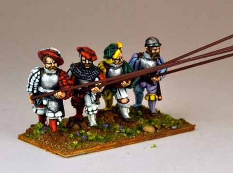 Landsknecht Armoured Pikemen Advancing