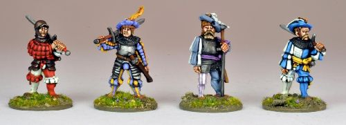 Landsknecht Dopplesoldiers