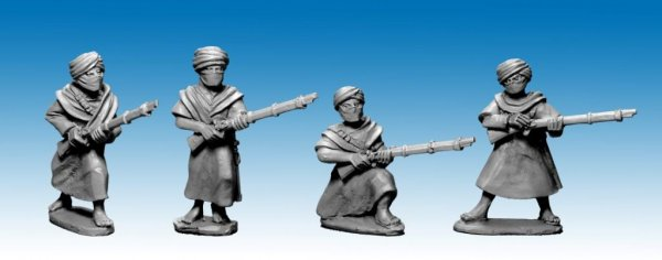 Tuaregs with muskets