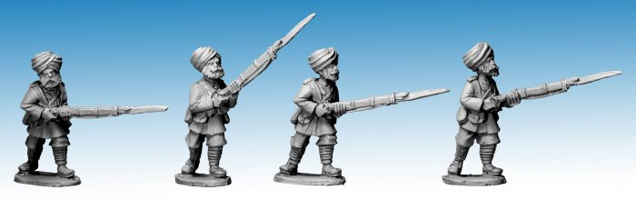 Sikh Infantry Advancing II. 2nd Afghan War