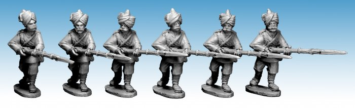 Punjabi Infantry Advancing